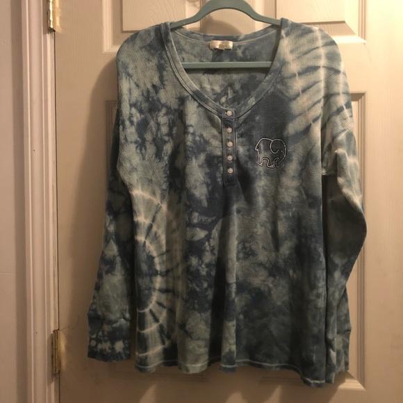 ivory ella Sweaters - Ivory Ella Tie Dye Long Sleeve Sweater